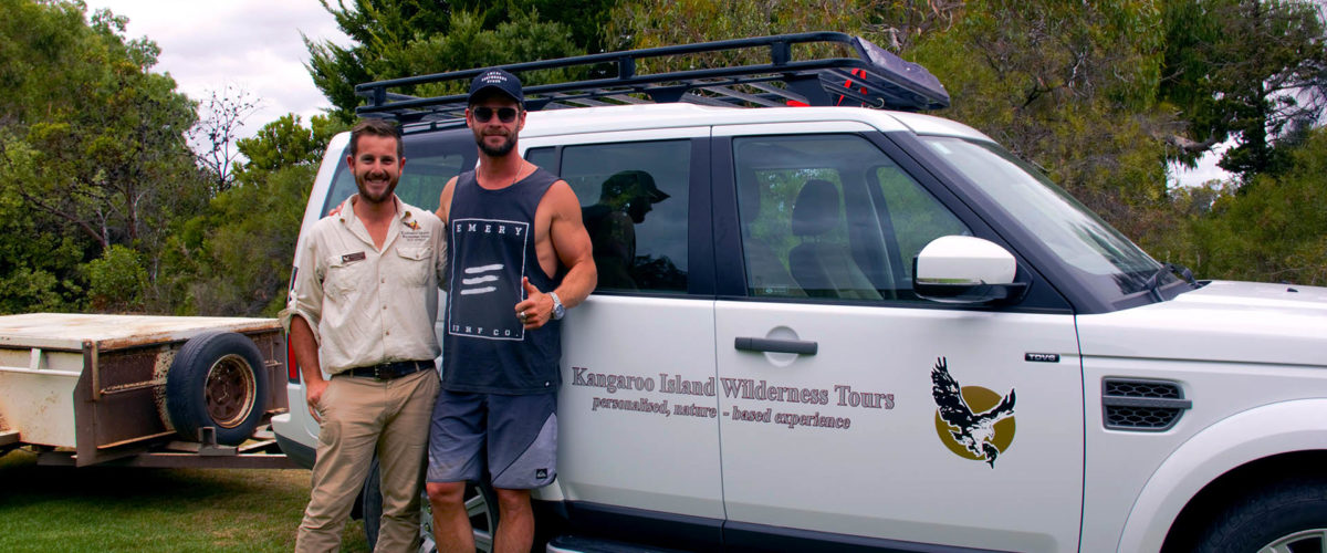 Chris Hemsworth visits KI!